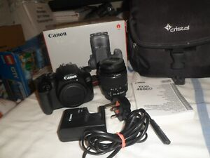 Canon EOS 4000D 18 MP Digital Camera with EF-S 18-55mm III Lens + Bag