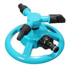 3 ARM 360° Fully Circle Rotating Water Sprinkler Garden Pipe Hose Irrigation