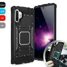 For Samsung Galaxy Note 10/Plus Hard Phone Case Metal Aluminum Magnetic Support