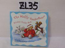 CHRISTMAS ORNAMENT NORTH AMERICAN BEAR CO. VANDERBEAR MUFFY HOLIDAY STICKER BOOK