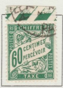 France Postage Due Timbre Taxe 1893-1935 60c Fine Used  A13P55F291