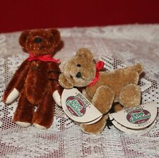 """Ganz Cottage Collectibles Miniature Bears """"Rusty"""" & """"Miguel"""" by Lynda Kunz"""