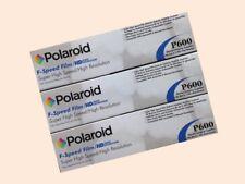 Dental X-Ray Polaroid Super High F Speed Film 3 boxes 450 Films Size 2 (P600)