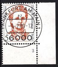 32) Berlin 5 Pf. Frauen 833 FN 3 Formnummer Ecke 4 EST FFM mit Gummi RAR!