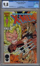 UNCANNY X-MEN #213 CGC 9.8 WOLVERINE VS SABRETOOTH WHITE PAGES