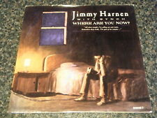 "JIMMY HARNEN - WHERE ARE YOU NOW  7"" VINYL PS"