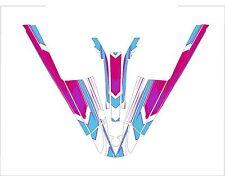 kawasaki 550 sx jet ski wrap graphics pwc stand up jetski decal sticker kit new3