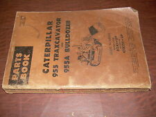 CAT 955 TRACK TRAXCAVATOR DOZER LOADER BULLDOZER PARTS BOOK MANUAL 42D329 60A1