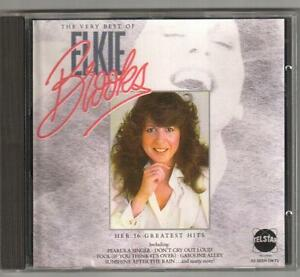 CD ELKIE BROOKS The Very Best Of  Telstar Records Made In W Germany 1986  RARE