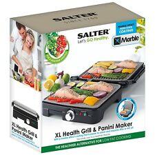 SALTER 1800W MARBEL MERAMIC XL LARGE SIZE HEALTH GRILL & PANINI MAKER EK2003