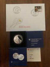 Roger Federer Commemorative Silver Swissmint Coin Limited Edition Certificate