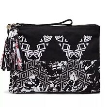 💞Mimco Large Double Decade Hand Made Pouch  Wallet Clatch Handbag + Dust Bag