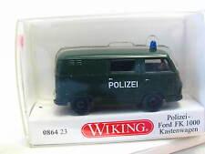 Wiking 0864 23 Ford FK 1000 Kastenwagen Polizei OVP (N6375)