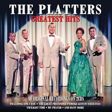 The Platters Greatest Hits 2-CD NEW SEALED Only You/The Great Pretender+