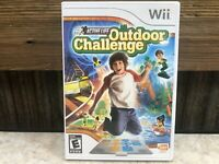 Active Life Outdoor Challenge Nintendo Wii Video Game Complete TESTED