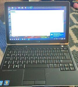 Dell Latitude E6230 laptop, Intel core i5 CPU, 8GB RAM, 256GB SSD, Win 10