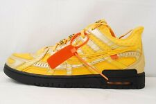 Nike Off-White Air Rubber Dunk QS University Gold Size 8.5 CU6015-700 From Japan
