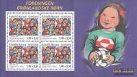 Dinamarca-Groenlandia Bloque 30 (edición completa) nuevo 2004 Groenlandia niños