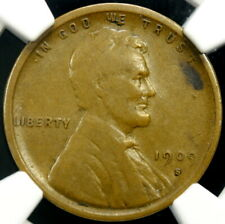1909-S VDB -- Lincoln Wheat Cent 1c -- NGC F15 BN