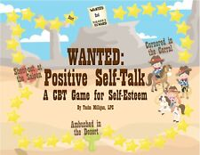 Wanted: Positive Self-Talk CBT Counseling Game, Self-Esteem, Depression