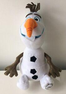 """Disney Store Frozen 'Olaf' Plush 10"""" Excellent Condition"""