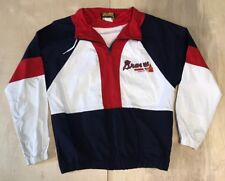 1994 Hummer Atlanta Braves light jacket pull-over Youth L 16-18