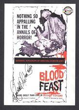 Movie Posters 2007 Sci-Fi Horror Breygent Autograph Card Herschell Gordon Lewis