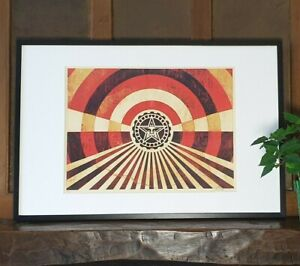 Shepard Fairey (OBEY) - Tunnel Vision Gold - S/N/400 - 2018