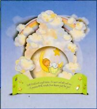 """Precious Moments Baby Boy Shower Centerpiece """" Still Fresh With Angel Kisses"""""""