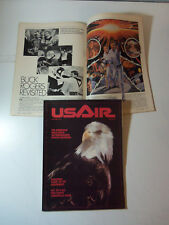 NICE! USAIR Airline Magazine Vol 1 # 1 BUCK ROGERS San Diego Chargers US AIRWAYS