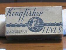 Kingfisher fishing line box Gladding line