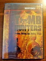 REAL TOMB HUNTERS: SNAKES, CURSES, AND BOOBY TRAPS (HISTORY CHANNEL) NEW & SEAL