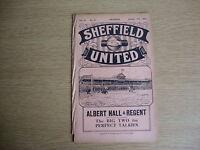1931/2 Sheffield United v Birmingham City - League Division 1