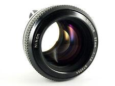Obiettivo Nikon Nikkor Lens 55/1.2 luce GIGANTE Nikon F (adattamento per ai)