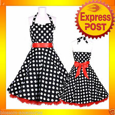 Unbranded Knee Length Polka Dot Dresses for Women