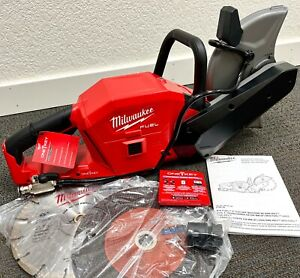 """NEW! Milwaukee M18 FUEL 9"""" Lithium-Ion Cut-Off Saw Machine w ONE-KEY (Tool Only)"""