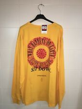 Be Humble Kendrik Lamar T Shirt Long Sleeves Yellow Color Size Xxl
