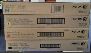 New Xerox DocuColor 240 242 250 252 260 Toner Set Workcenter 7655 7755 7775
