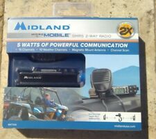 🌟🎈 MIDLAND MXT105 GMRS Two-Way Radio Micromobile w/ 15 Channels 🌟