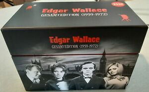 Edgar Wallace Gesamtedition (1959-1972) – 33 DVD-Box Set – Uncut – Wie Neu