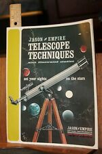 1967 Jason Empire Telescope Techniques Booklet