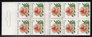 Belgium 1997 Rhododendron booklet Sc# 1677a NH
