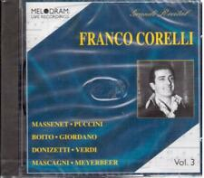 Franco Corelli: Grandi Recital Volume III - CD