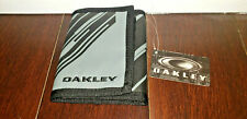 Oakley Trifold Wallet Rare SI ELITE TACTICAL BLACK MILITARY DISCONTINUED