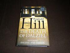 Reginald Hill signed The Death of Dalziel