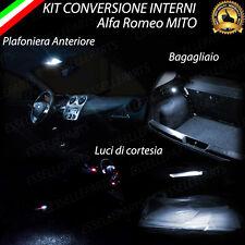 KIT LED INTERNI ALFA ROMEO MITO ANTERIORE + LUCI CORTESIA +BAGAGLIAIO 6000K