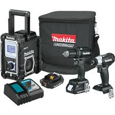 Makita CX301RB 18V LXT® Lithium‑Ion Sub‑Compact Brushless Cordless 3‑Pc. Combo K