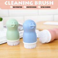 Cleaning Brush Fruit Vegetable Carrot Potato Dish Home Kitchen Cleaner Tool