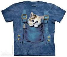 Kurzarm Damen-T-Shirts aus Baumwolle mit Rundhals-Ausschnitt