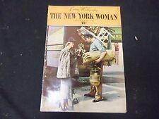 1936 SEP 30 THE NEW YORK WOMAN MAGAZINE - VOLUME 1, NUMBER 4 - ST 3806